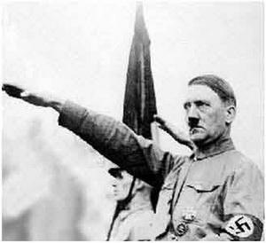 портрет Адольфа Гитлера